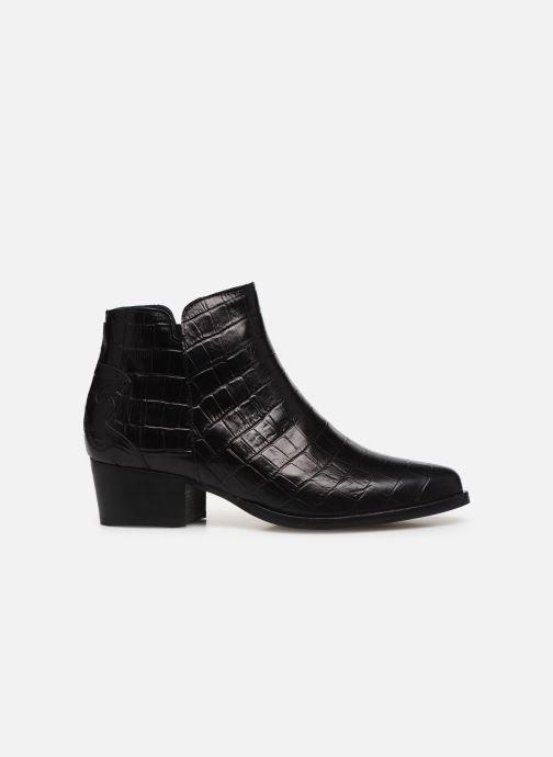 Bottines et boots Schmoove Woman POLLY FOLK PRINT CROCO Noir vue derrière