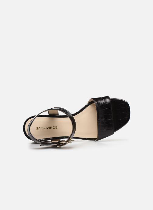 Sandali e scarpe aperte Schmoove Woman VENUS SANDALE PRINT CROCO Nero immagine sinistra