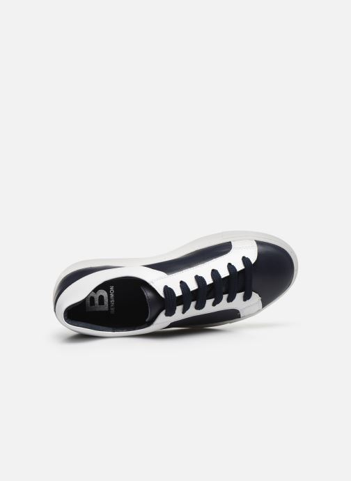 Sneakers Bensimon BASKET LISBONNE Nero immagine sinistra