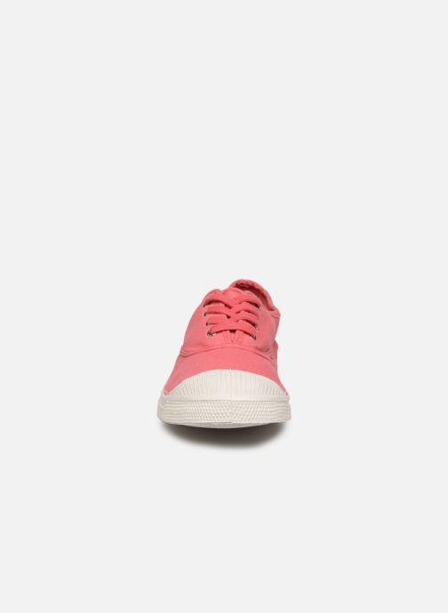 Baskets Bensimon TENNIS LACET F Rose vue portées chaussures