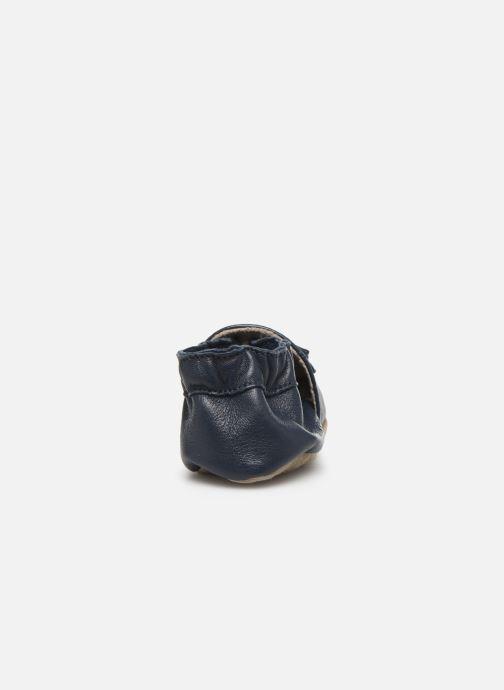 Pantofole Robeez Mocassin Azzurro immagine destra