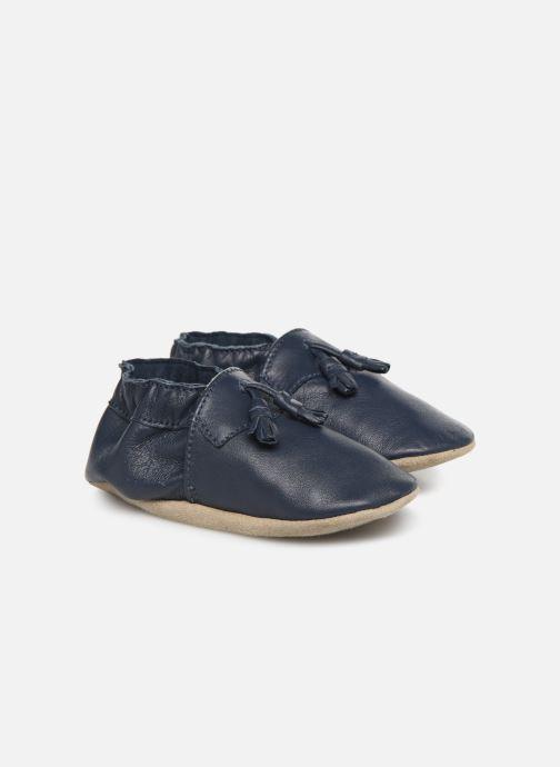 Pantofole Robeez Mocassin Azzurro vedi dettaglio/paio