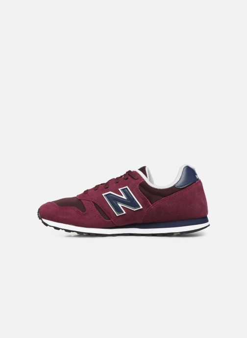 Baskets New Balance ML373 D Bordeaux vue face