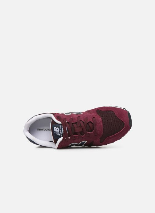 Baskets New Balance ML373 D Bordeaux vue gauche