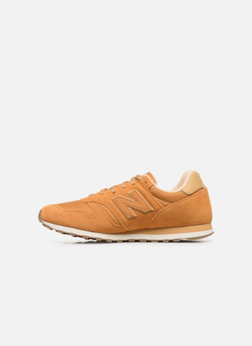 Baskets New Balance ML373 D Jaune vue face