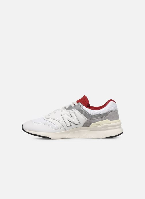 Sneakers New Balance CM997 D Wit voorkant