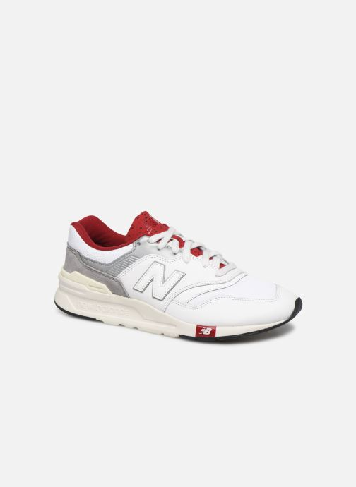 Trainers New Balance CM997 D White detailed view/ Pair view