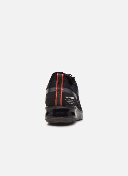 air max sequent 4 shield noire et orange
