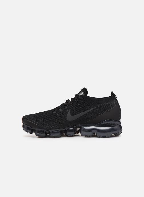 Sneaker Nike Nike Air Vapormax Flyknit 3 schwarz ansicht von vorne