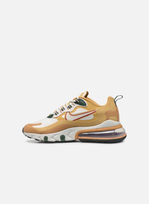 Baskets Nike Nike Air Max 270 React Beige vue face