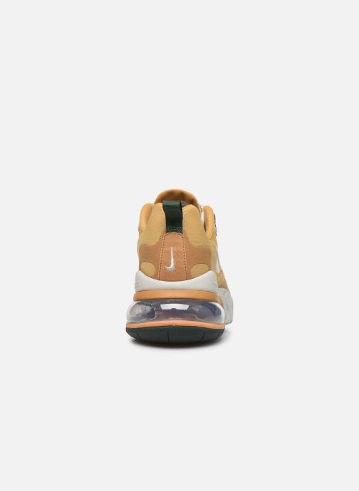 Baskets Nike Nike Air Max 270 React Beige vue droite