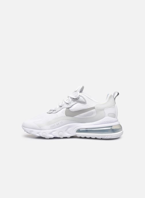 Baskets Nike Nike Air Max 270 React Blanc vue face