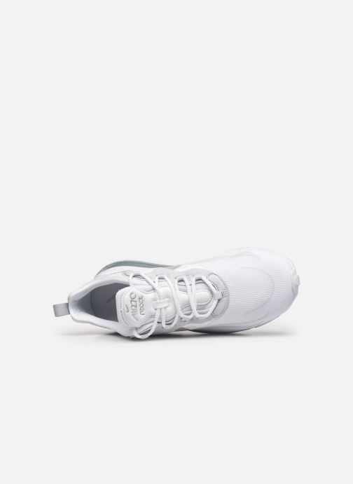 Baskets Nike Nike Air Max 270 React Blanc vue gauche