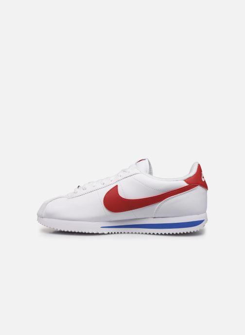 Deportivas Nike Nike Cortez Basic Blanco vista de frente