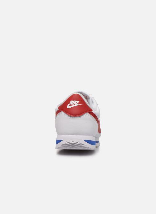 Deportivas Nike Nike Cortez Basic Blanco vista lateral derecha