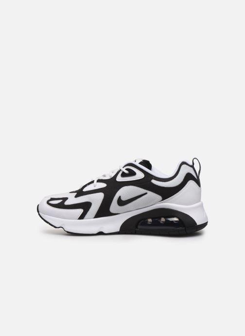 Sneaker Nike Nike Air Max 200 weiß ansicht von vorne