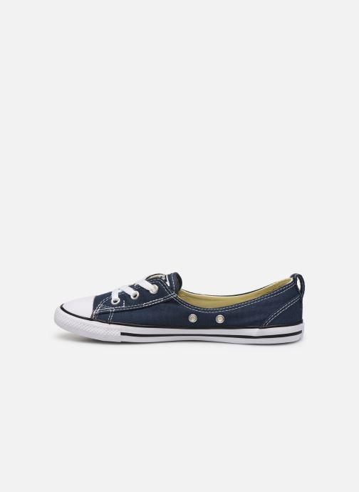 Sneaker Converse Chuck Taylor  Ballet Lace Slip blau ansicht von vorne