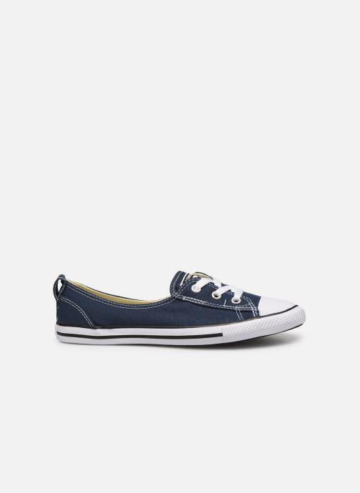 Sneaker Converse Chuck Taylor  Ballet Lace Slip blau ansicht von hinten