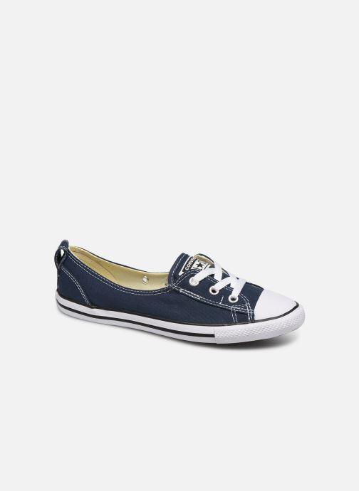 Sneakers Converse Chuck Taylor  Ballet Lace Slip Blå detaljeret billede af skoene