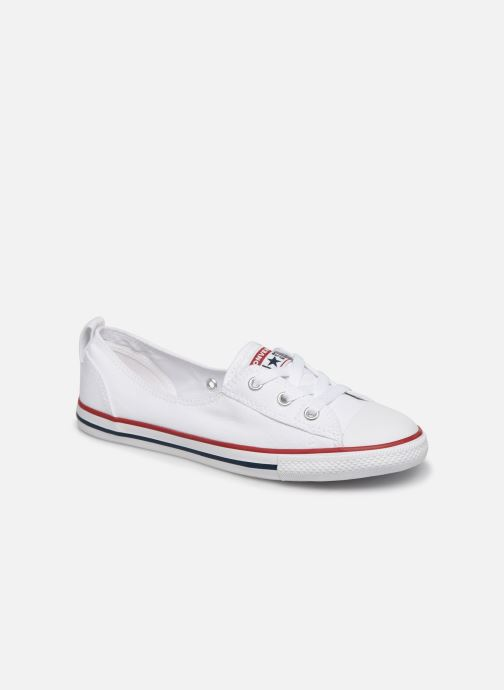 Sneaker Converse Chuck Taylor  Ballet Lace Slip weiß detaillierte ansicht/modell