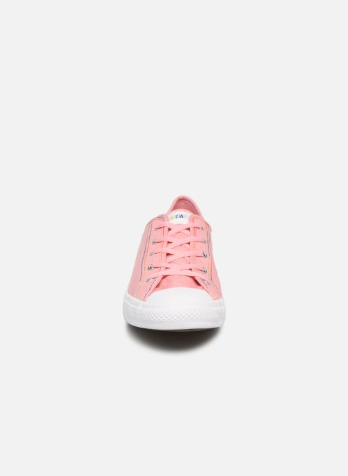 Baskets Converse Chuck Taylor All Star Dainty Ox Coastal Rose vue portées chaussures