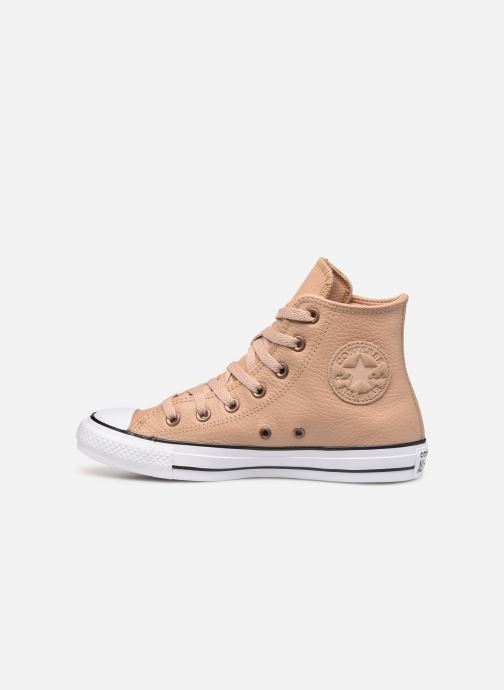 Trainers Converse Chuck Taylor All Star Hi Champagne Beige front view