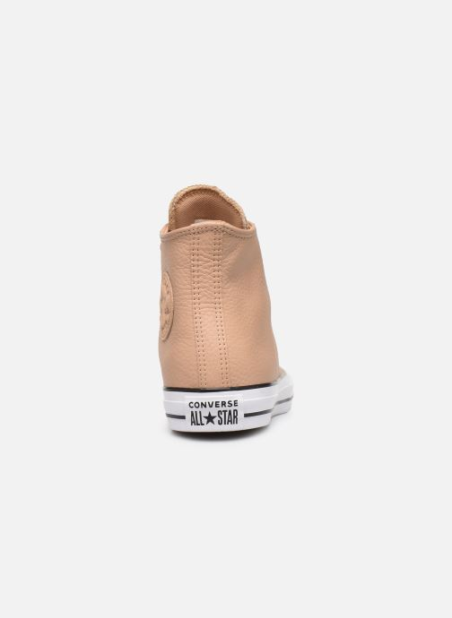 Trainers Converse Chuck Taylor All Star Hi Champagne Beige view from the right