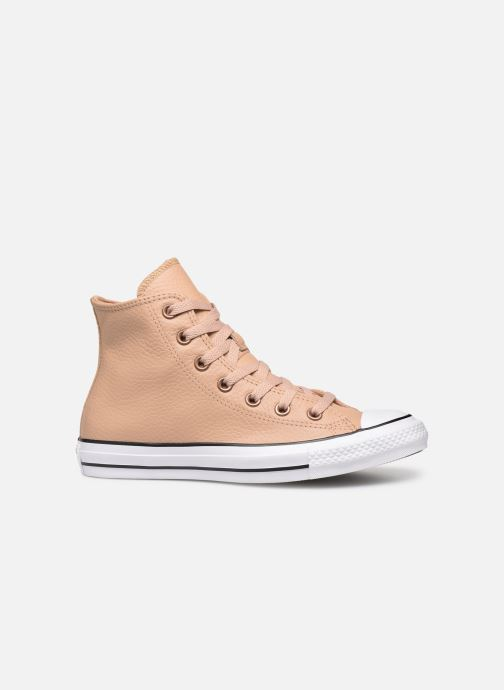 Trainers Converse Chuck Taylor All Star Hi Champagne Beige back view