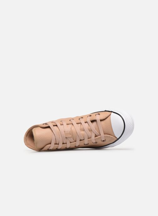 Sneakers Converse Chuck Taylor All Star Hi Champagne Beige immagine sinistra