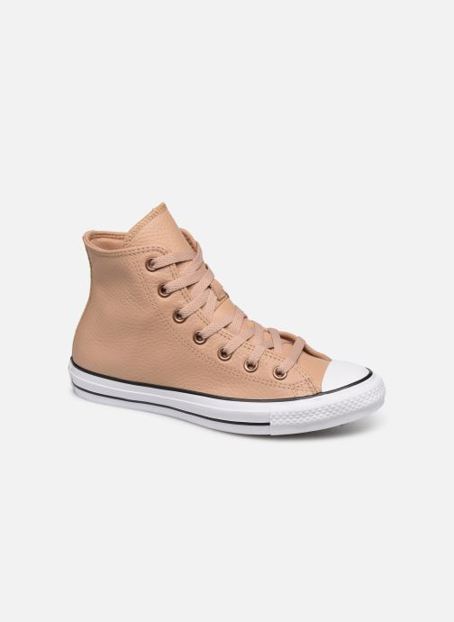 Trainers Converse Chuck Taylor All Star Hi Champagne Beige detailed view/ Pair view