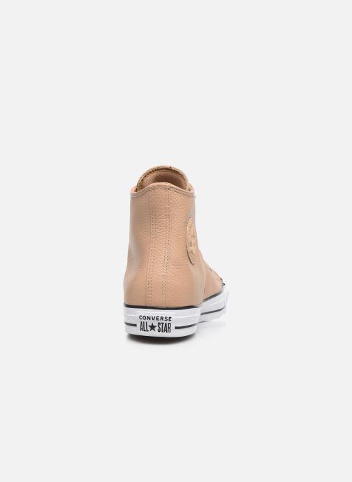 Sneakers Converse Chuck Taylor All Star Hi Champagne Beige Se fra højre