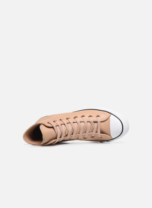 Sneakers Converse Chuck Taylor All Star Hi Champagne Beige se fra venstre
