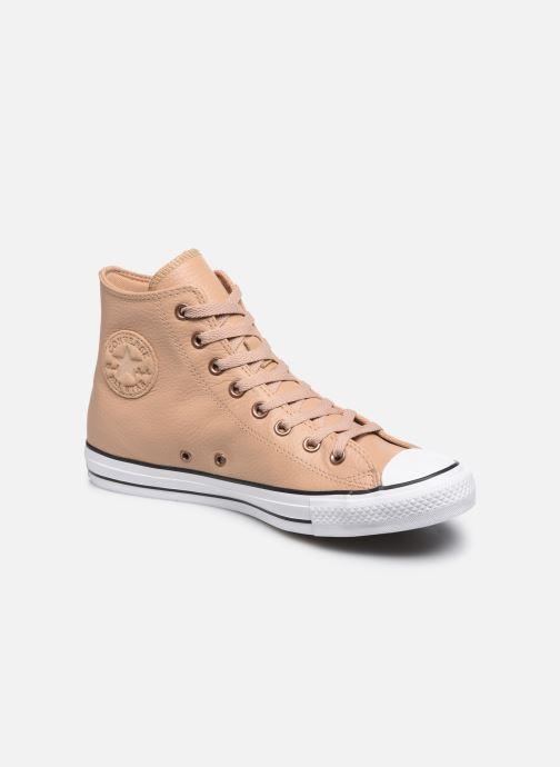 Sneakers Converse Chuck Taylor All Star Hi Champagne Beige detaljeret billede af skoene