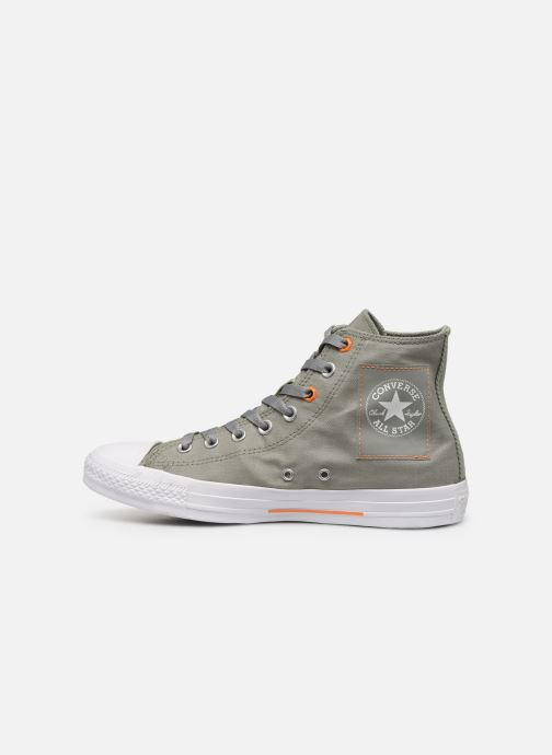 Sneakers Converse Chuck Taylor All Star Hi Jade Grøn se forfra