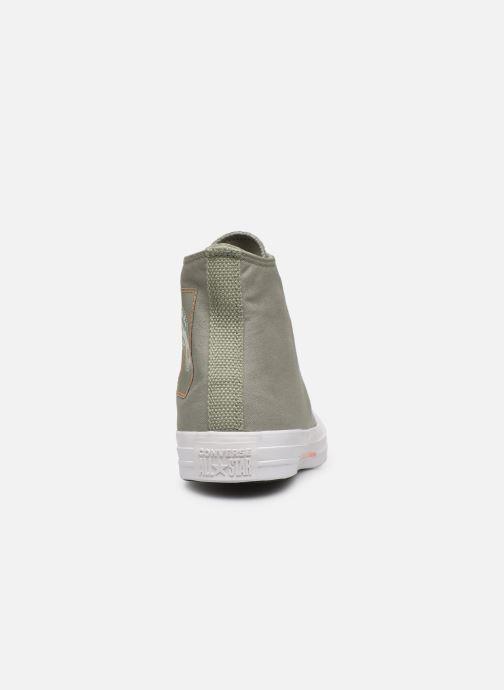 Sneakers Converse Chuck Taylor All Star Hi Jade Grøn Se fra højre