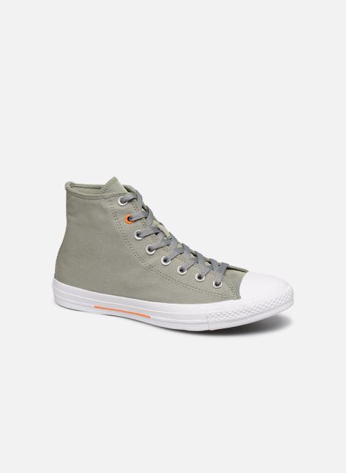 Sneakers Converse Chuck Taylor All Star Hi Jade Grøn detaljeret billede af skoene