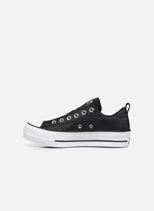 Sneakers Converse Chuck Taylor All Star Lift Slip Nero immagine frontale