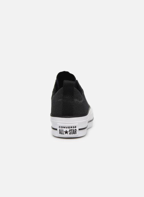 Sneakers Converse Chuck Taylor All Star Lift Slip Nero immagine destra