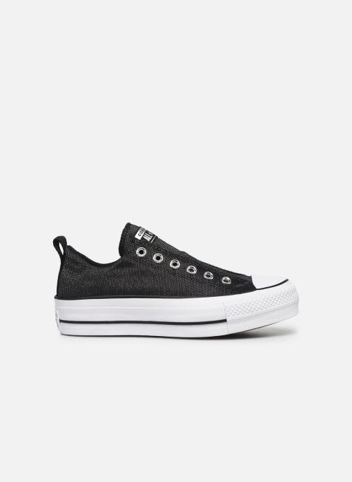 Sneakers Converse Chuck Taylor All Star Lift Slip Nero immagine posteriore