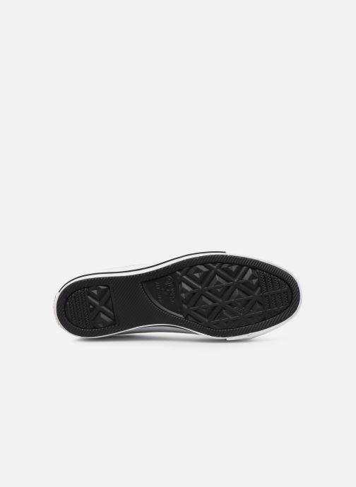 Sneakers Converse Chuck Taylor All Star Lift Slip Nero immagine dall'alto