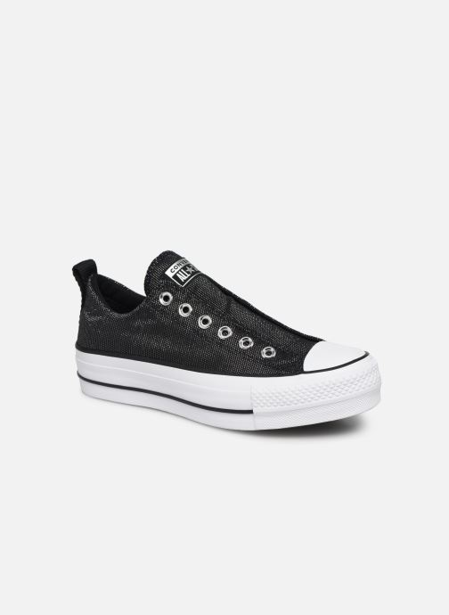 Trainers Converse Chuck Taylor All Star Lift Slip Black detailed view/ Pair view