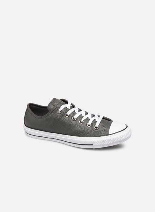 New Womens Converse Grey All Star Dainty Ox Canvas Trainers Plimsolls Lace Up