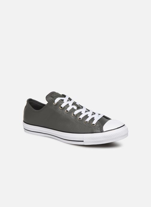 Trainers Converse Chuck Taylor All Star OX Carbon M Grey detailed view/ Pair view