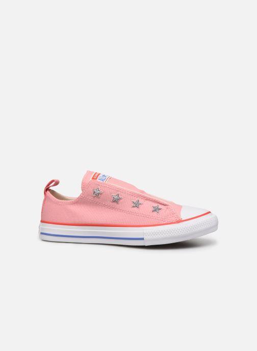 Sneakers Converse Chuck Taylor All Star Teen Slip Coastal Roze achterkant