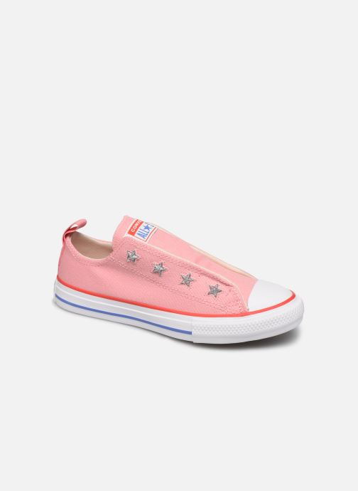 Trainers Converse Chuck Taylor All Star Teen Slip Coastal Pink detailed view/ Pair view