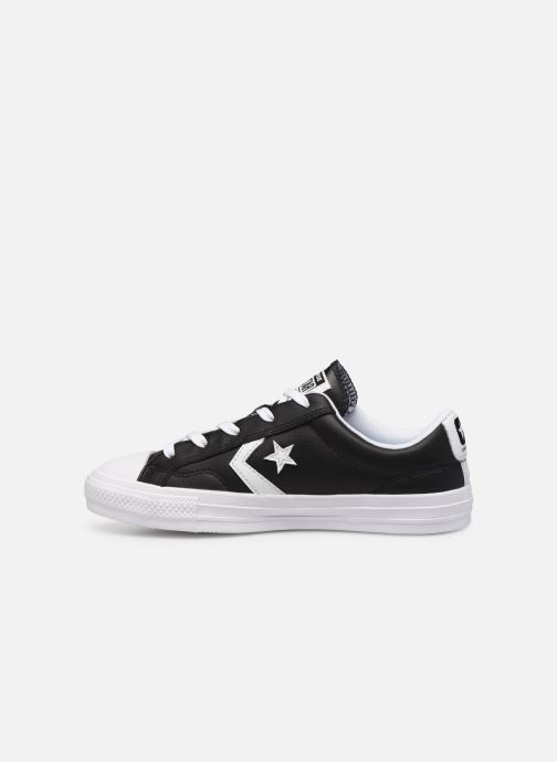 Deportivas Converse Star Player Leather Essentials Ox W Negro vista de frente