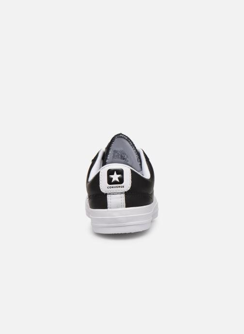 Sneakers Converse Star Player Leather Essentials Ox W Nero immagine destra