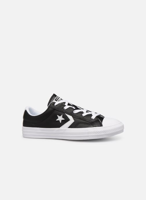 Deportivas Converse Star Player Leather Essentials Ox W Negro vistra trasera