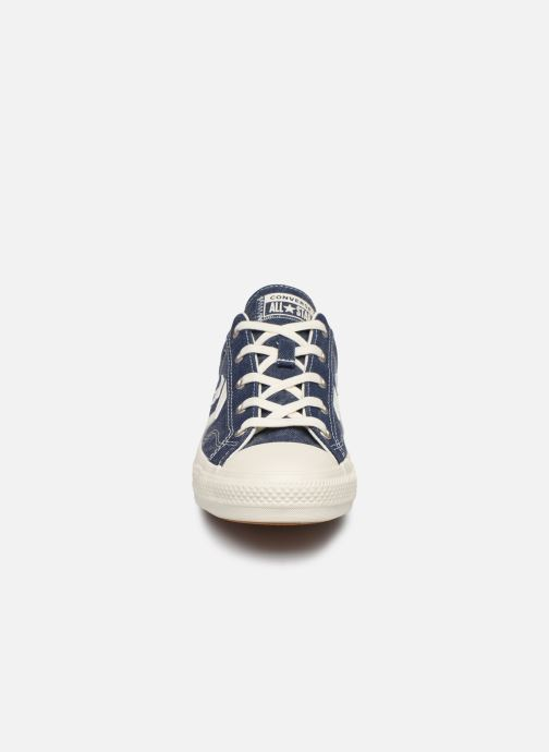 Trainers Converse Star Player Sun Backed Ox W Blue model view