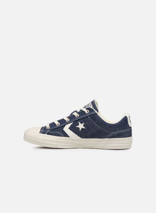 Trainers Converse Star Player Sun Backed Ox W Blue front view